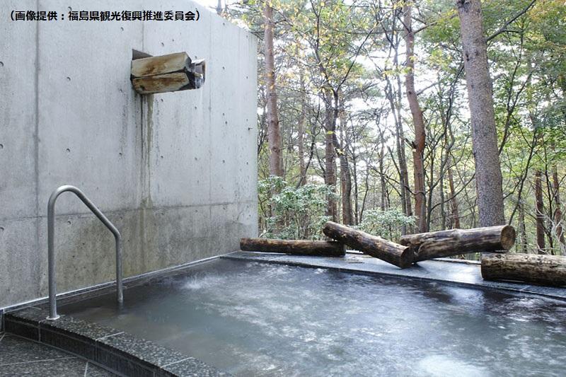 フォレストパークあだたら内にある温泉