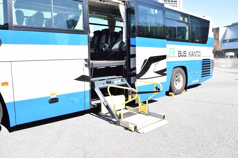 リフト付きバス(バステク首都圏2018より)