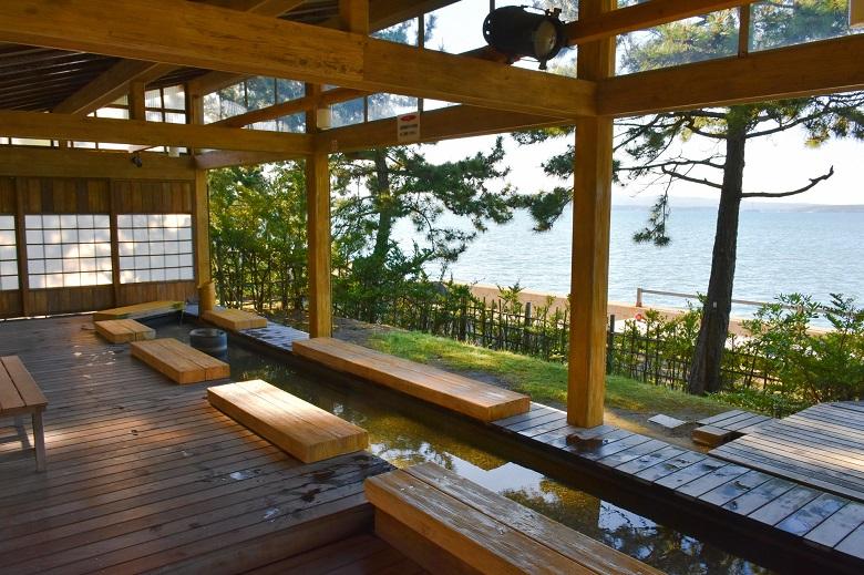 和倉温泉の足湯
