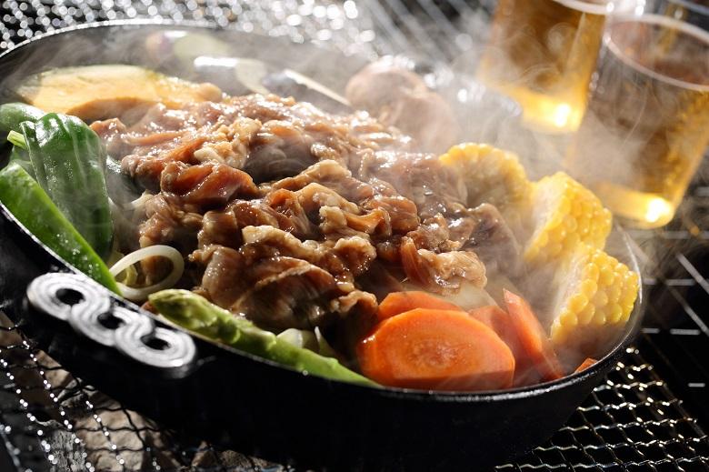 北海道といえばジンギスカン!BBQでも楽しめます