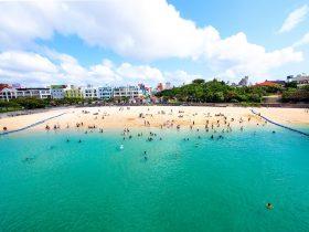 沖縄波の上ビーチ