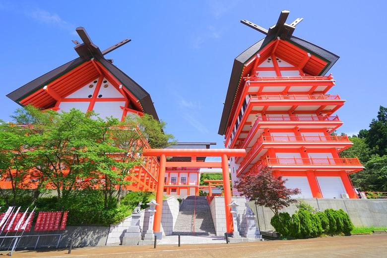 宝徳山稲荷大社(長岡市)