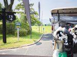 ゴルフコンペ送迎バス